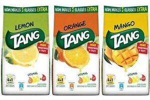 Tang Instant Drink Mix Powder 500 GM Orange / Lemon / Mango ~4+1 extra Litre