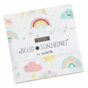 Hello Sunshine   Abi Hall   Moda Fabrics   35350PP Charm Pack