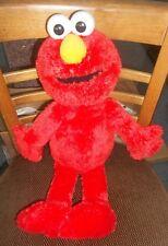 "2014 Hasbro Plush 21"" Elmo Sesame Street Soft Very Good Clean Condition Look!"