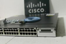 Cisco Catalyst WS-C3750X-48P-S - Poe Gigabit Switch SINGLE POWER