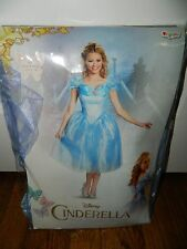 Disney Cinderella Deluxe Adult Costume Halloween Womens Size Large 12-14