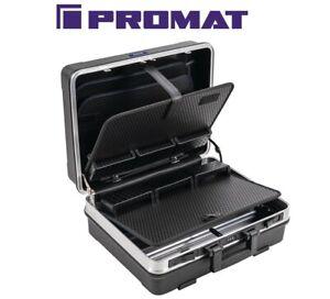 PROMAT Schalenkoffer B500xT200xH420mm mit Werkzeugmodul 29 L abschließbar