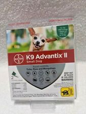 BrandNew Bayer K9 Advantix II Flea & Tick Treatment for Small Dogs 2 Pack /Dose