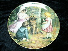 Spring Decorations Plate (840) Boxed & Certificate Wedgwood Yesterdays Child