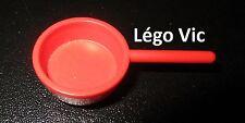 Lego Fabuland x653 Frying Pan Casserole Red Rouge du 3784 3795 3701 & 3672