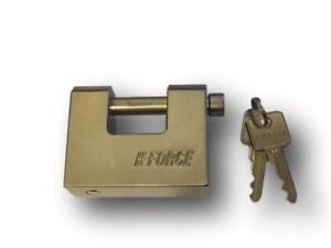 K-FORCE HIGH SECURITY CONTAINER PADLOCK BLOCK-LOCK (Cisa KF85 copy) FREE P&P