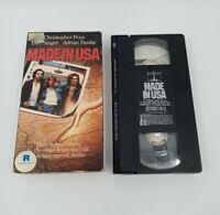 MADE IN USA Nelson Video 1988 VHS Rare HTF Lori Singer Chris Penn Heist