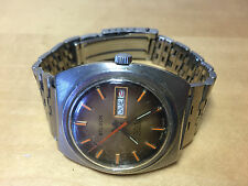 Used - Vintage Watch Reloj BELISON 25 Rubis Incabloc Automatic Day Date - Steel