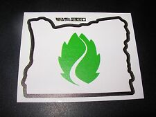 HOP VALLEY BREWING Oregon State citrus mistress STICKER decal craft beer brewery