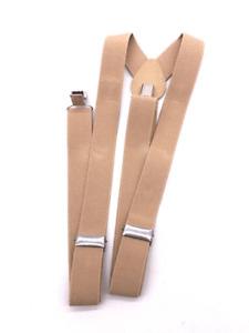 Suspenders Braces Men Women Y-Shape Back Clip-on Elastic Adjustable Trousers NEW