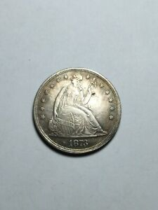 Coin one dollar us 1873