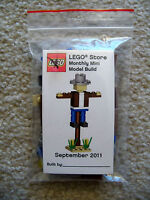 LEGO Monthly Mini Build - Rare - Scarecrow - September 2011 - w/ Card