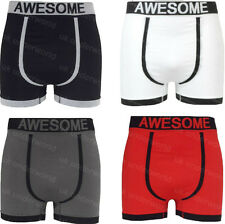 3 Pairs Mens Adults Seamless Boxer Shorts Trunks Briefs Designer Underwear