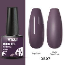 Mtssii Nail Art Gel Color Polish Soak-off Gel Manicure Purple Db07 Varnish 6ml