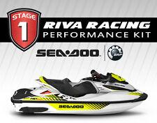 SEADOO RXT-X 300 / GTX Ltd 300 STAGE 1 Kit 76+ MPH RIVA SCOM and Power Filter