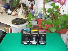 Lexmark CX310 CX410 CX510 Standard Color Set Toner 80C10C0 80C10M0 80C10Y0 1.4K