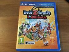 jeu ps vita invizimals l 'alliance