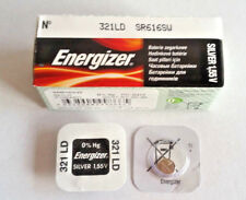 1x Energizer 321 / SR616SW Silver Oxide, EXP: 01/2021 or later MADE IN JAPAN