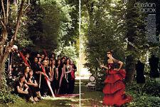 2008 Demarchelier Natalia Vodianova Lacroix Chanel Dior 14-pg MAGAZINE EDITORIAL