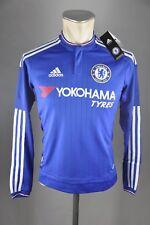 Chelsea Kinder Trikot Gr. 164 Adidas Fußball Boys Neu Home Shirt LS 15-16 jersey