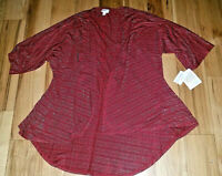 Womens Lularoe Lindsay Size Small S New NWT Kimono Elegant Collection Cardigan