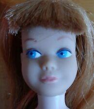Vintage Barbie Skipper Doll Titian Straight Legs