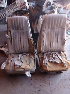 1977 Chevrolet Blazer OEM  Front bucket Seats