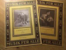 Klaviernoten Bizet Carmen Heft 1 und 2, Verlag Ulstei
