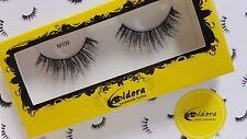 Eldora False Eyelashes M109 Multi-layered Human Hair Strip Lashes