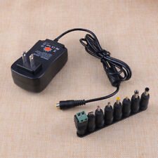 Universal Power Supply Netzteil Adapter AC to DC 3V/4.5V/6V/7.5V/9V/12V 2.1A 30W