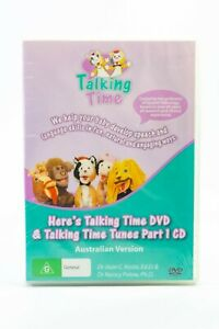 Here's Talking Time And Talking Time Tunes Part 1 CD & DVD Set New Sealed