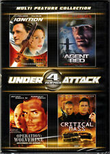 AGENT RED Dolph Lundgren IGNITION & OPERATION WOLVERINE a CRITICAL MASS on 2 DVD