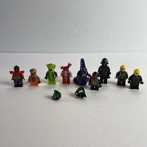 Lego Ninjago Lot Of 9 Minifigures