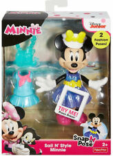 New listing Fisher Price/Minnie/Snapn Pose/Sail N' Style/ Minnie Mouse/Press Dress/ 2 poses
