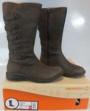 MERRELL Women's CAPTIVA LAUNCH 2 WP Espresso Leather Boot US 6 M J69148