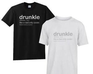 DRUNKLE TSHIRT S-XXXL Men Funny TShirt, Gift for Him Brother Uncle Birthday xmas