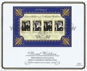 SOLOMON ISLANDS 15 MAY 2011 ROYAL WEDDING M/SHEET O/S VLE FIRST DAY COVER