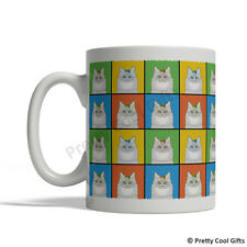 Turkish Van Cat Mug - Cartoon Pop-Art Coffee Tea Cup 11oz Ceramic