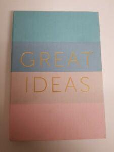 A5 Notebook - Great Ideas , Inspire Dreams