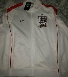 Nike England 150 Years 1863 2013 Soccer Track Jacket  Full Zip Size M BNWT