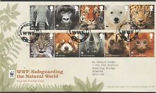 GB 2011 FDC 50th Anniversary of WWF Godalming Surrey postmark stamps
