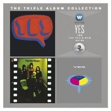 YES - THE TRIPLE ALBUM COLLECTION (YES/THE YES ALBUM/90125) 3 CD ROCK NEW+