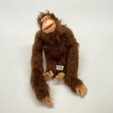 "Vintage Knickerbocker Toys 14"" Bendable Orangutan Flexible Foam Doll Made Japan"
