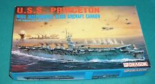 USS Princeton Independence Class Aircraft Carrier Dragon 1/700 Complete.