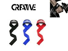Creative Weight Lifting Wrist Wraps - Heavy Weight Hand Support Straps! Grips