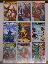 JUSTICE LEAGUE 3000 #1-9 (Superman, Batman, Flash) - DC New 52 Comic Run