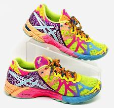 Asics T458N Gel-Noosa Tri 9 Running Triathlon Duomax Rainbow Women's Size 7.5