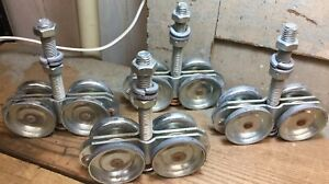 Set of 4 Industrial Door Rollers