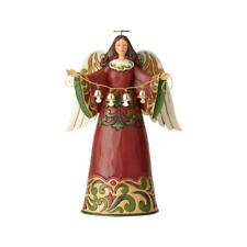 Jim Shore Sounds of Joy Ring out Polyresin Angel Bells Figurine 6001054