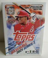 NEW! 2021 TOPPS Baseball Series 1 MLB BLASTER BOX! Factory Sealed! SHIPS FAST!🔥